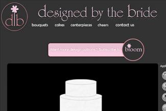 Designed by the Bride website