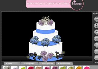 Designed By The Bride Cake