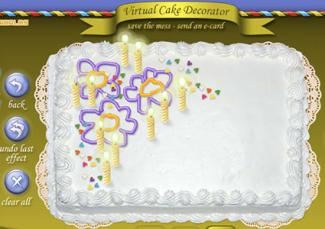 Virtual Cake Decorator Cake