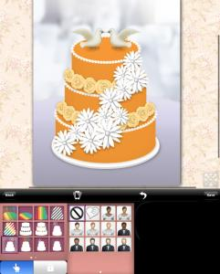 wedding cake designer ipad app