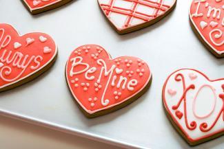 Conversation Valentine Cookies