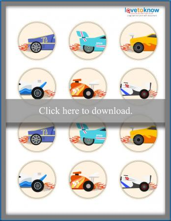 Click to print the car toppers.