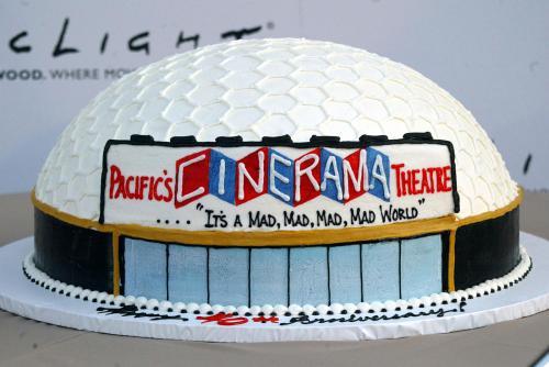 Arclight Cinema anniversary cake