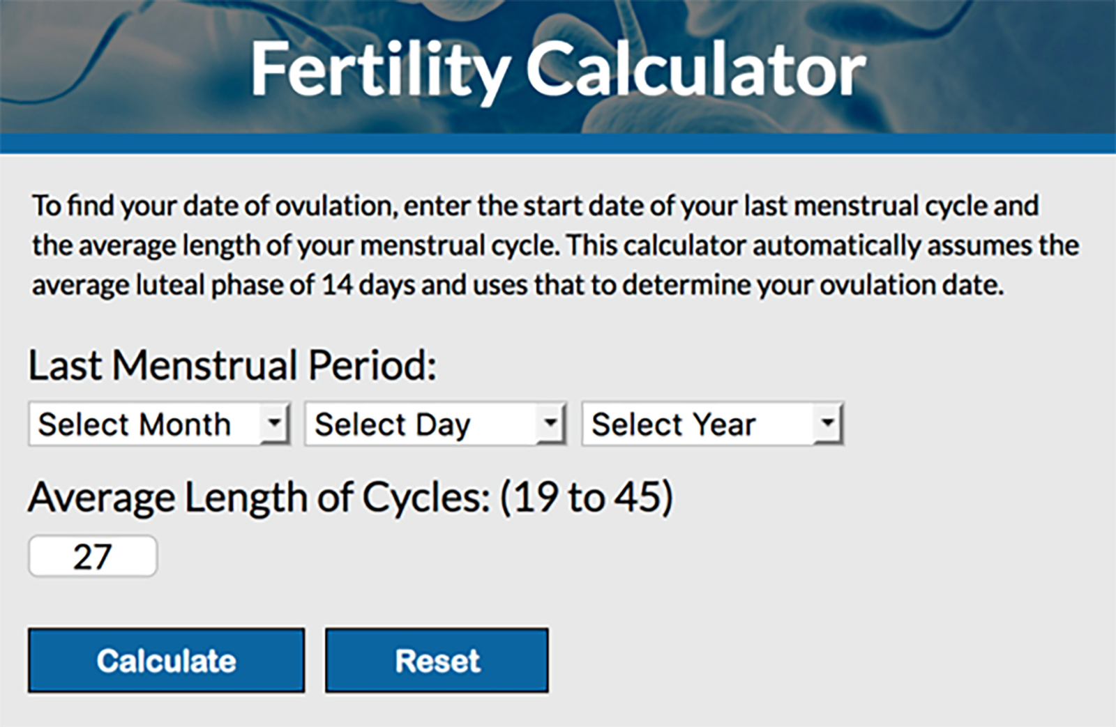 How to Calculate Your Fertile Period