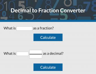 Decimal to Fraction Converter
