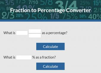Fraction to Percentage Converter