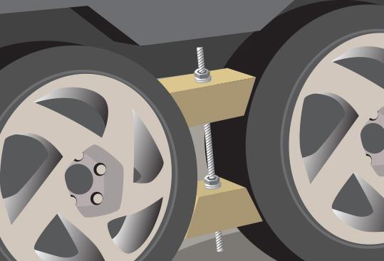 Homemade RV Wheel Chocks | LoveToKnow