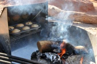 homemade camp stove