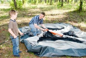 Learn about the six person cabin tent.