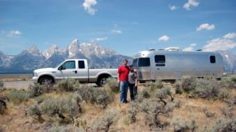 Airstream campers can go just about anywhere.