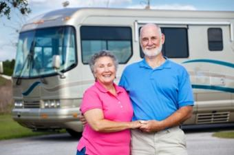 Recreational Vehicle enthusiasts on a road trip.