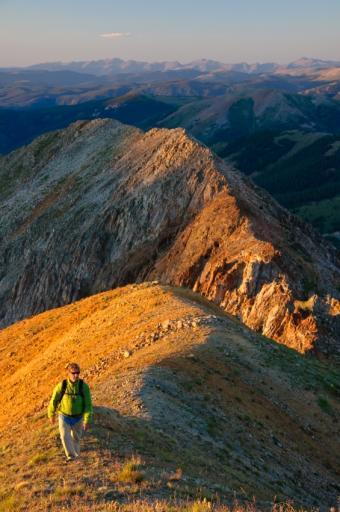 Aspen Mountain Hiker