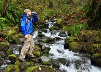 Columbia Gorge, Oregon Hiker