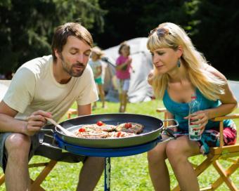 Campsite Grilling