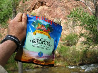 Meals in a Bag for Camping