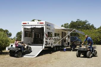 How to Choose the Right RV Toy Hauler for You