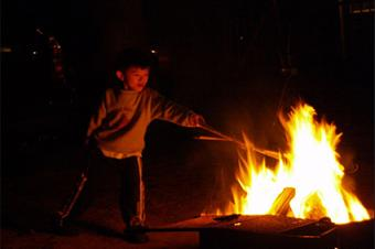 Campsite Fire Ring