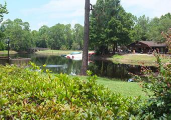 Fort Wilderness Campground - Bike/Boat Rental building