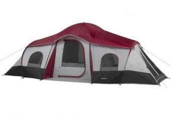 Ozark Trail 10 Person 3 XL Room Cabin Tent