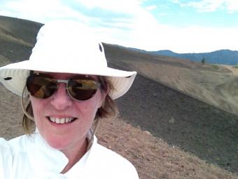 Gail Bower at Cinder Cone