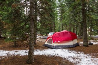 Camping in Lassen