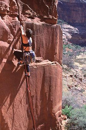 Climbing in Zion National Park