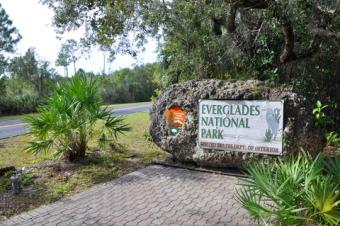 Everglades National Park Sign; © Wangkun Jia | Dreamstime.com