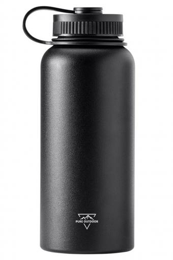 Pure Outdoor Wide-Mouth Water Bottle
