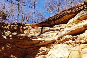 Cliff At Clifty Falls State Park