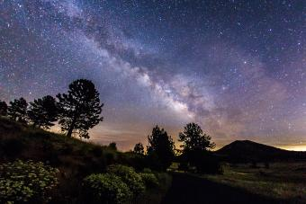 The Milky Way in Cuyamaca Rancho State Park