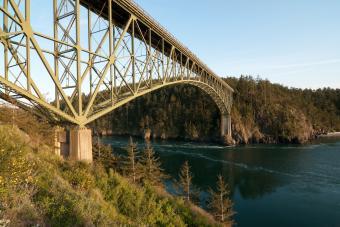 Famous Deception Pass Bridge