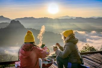 Enjoy meal morning