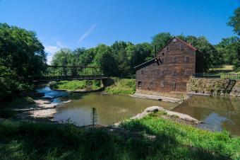 Wildcat Den State Park Bridge & Grist Mill