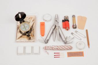 Contents of a survival kit