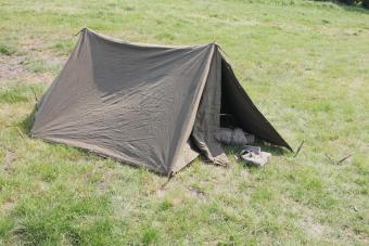 Dutch army tent 1955