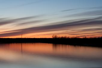 Cane Creek Lake in Cane Creek SP, Arkansas