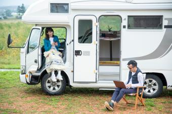 Lifestyle with Camper Van
