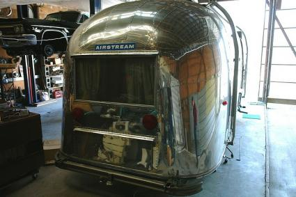 1962 Safari - 22 foot in Vintage Airstreams, LLC Shop