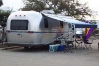 Vintage Airstream Travel Trailers