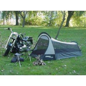motorcycle tent  sc 1 st  C&ing - LoveToKnow : small tents for motorcycles - memphite.com