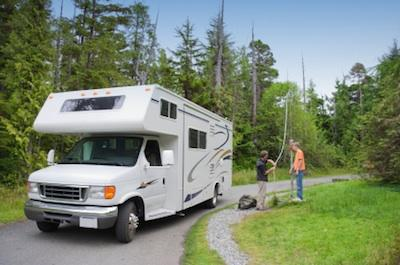 Recreational vehicle camper