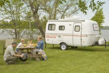 16 foot Scamp travel trailer