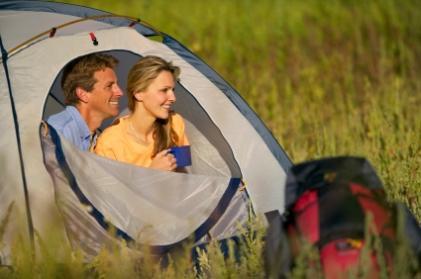 Tent Camping Adventure