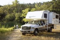 truck camper with slideout