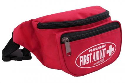 Hiker's Fanny Pack First Aid Kit