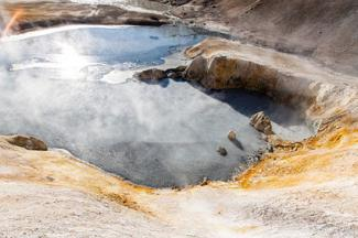 Geothermal Activity in Lassen