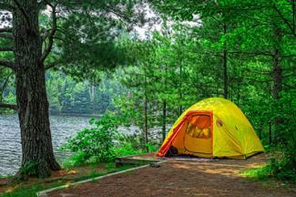 Lost Lake campsite, Voyageurs National Park, Minnesota