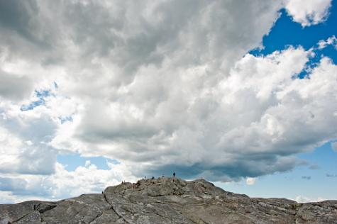 Peak of Mount Monadnock, New Hampshire