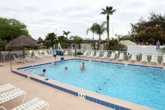The pool at Kissimmee KOA