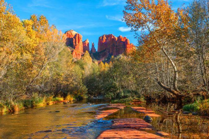 Oak Creek & Cathedral Rock, Sedona AZ